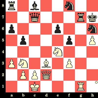 Les Blancs jouent et matent en 4 coups - Ferdinand Hellers vs Jeroen Piket, Amsterdam, 1985