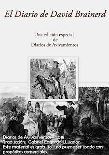 soliloquios, David Brainerd, Diario, Juan Carlos Parra