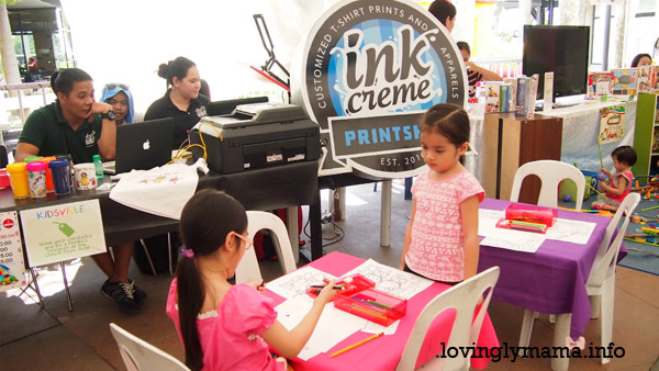 Kidsville - activities for kids - homeschooling - homeschooling in Bacolod - Bacolod City - Bacolod mommy blogger-  talisay city - Negros Occidental - The District North Point - teaching kids - field trip - educational fair - Tshirt printing