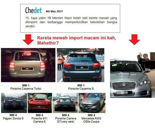 Proton Rugi: Mahathir Beli Kereta Import Mewah