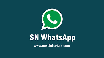 Download SN WhatsApp v1.0 edition,sn-whatsapp Latest Version 2020,snwa v1.0 terbaru,aplikasi wa mod anti ban 2020,tema sn whatsapp keren 2020,