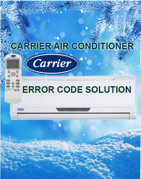 carrier air conditioner error code solution