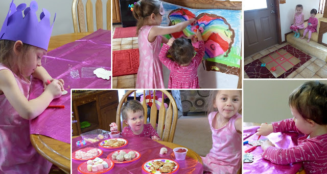 "Annie Lang suggests lots of fun activities, party food and games to keep the kids busy on their ""Festival of Hearts"" Day sleepover party"