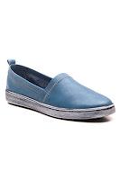 mavi kadın spor babet ayakkabı