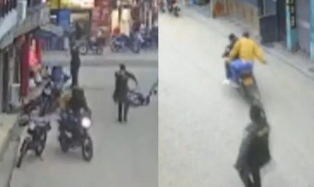 Video: Sicarios del Clan del Golfo atacaron a policías, no sabían que seria su ultima emboscada, uno termino muerto y el otro con un plomazo en la cabeza