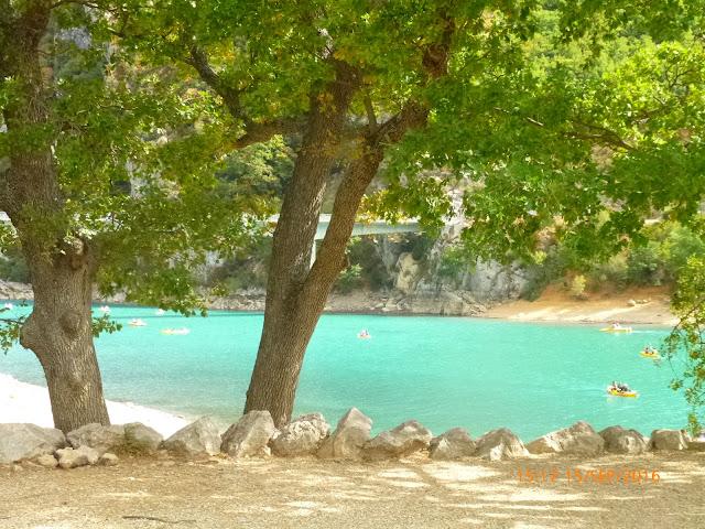 Karibikflair am Lac de Sainte-Croix