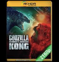 GODZILLA VS. KONG (2021) 4K 2160P HDR MKV ESPAÑOL LATINO
