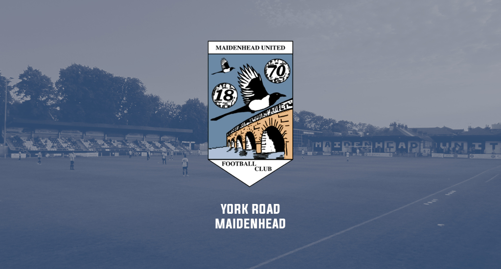York Road and Maidenhead United FC logo