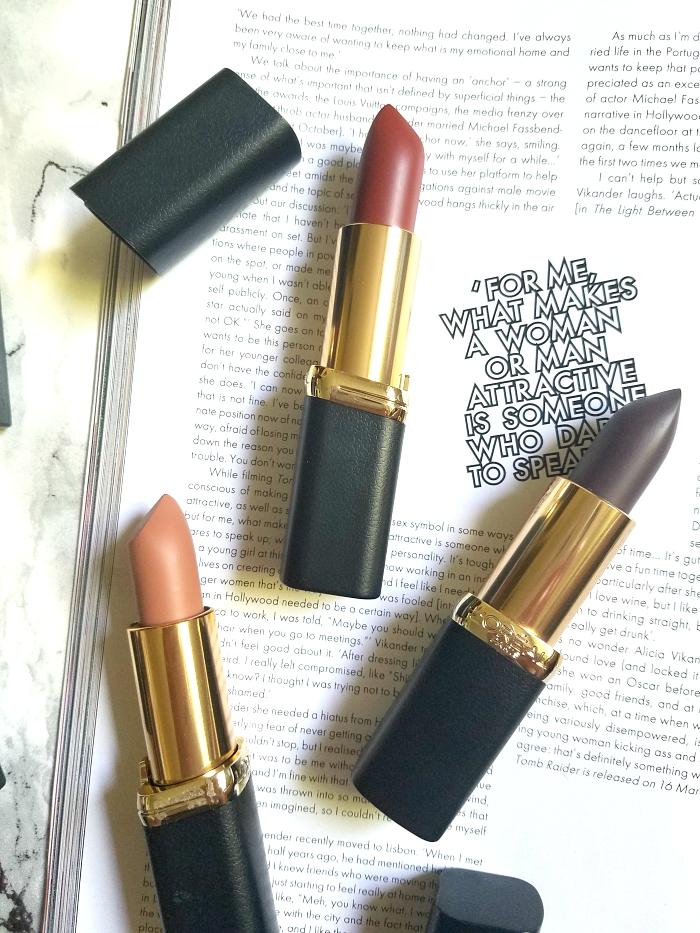 L´Oréal Paris - Color Riche Matte Magnetic Stones Collection Review & Swatches 6 - Madame Keke Beauty Blog