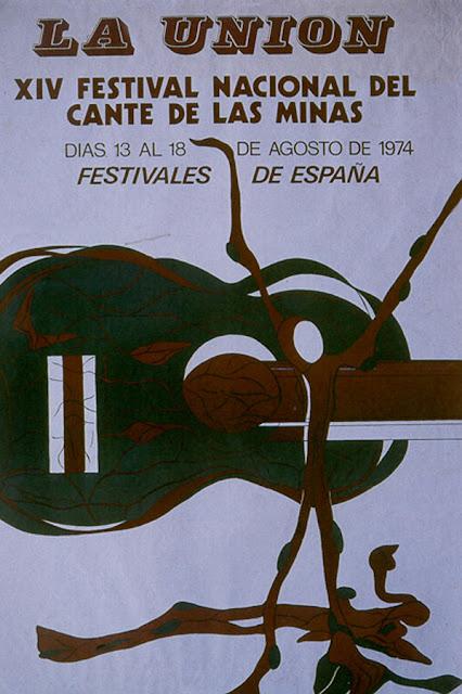 Cartel del Cante de las Minas de 1974