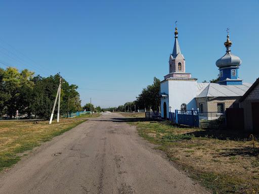 Новопідгородне. Вулиця Центральна
