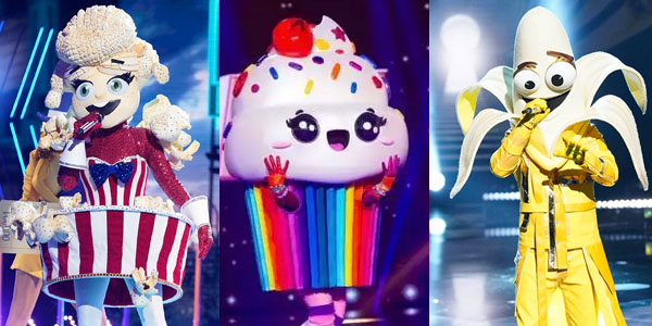 best masks of the masked singer food