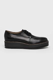 Wojas - Pantofi casual din piele naturala cu talpa groasa