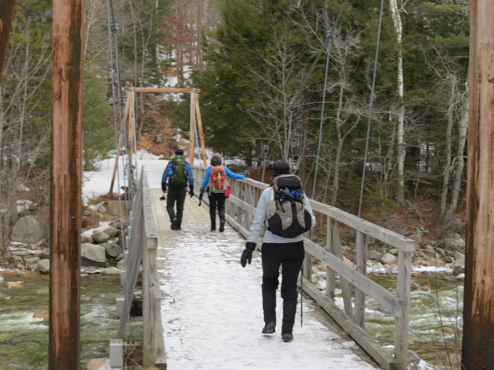 Outdoor Diversion: Traverse Hike Over Flume and Liberty