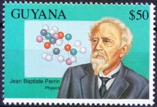 Guyana 1993, Jean Baptiste Perrin Nobel Prize in Physics 1926