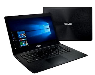 Specifications of Asus X453SA notebook
