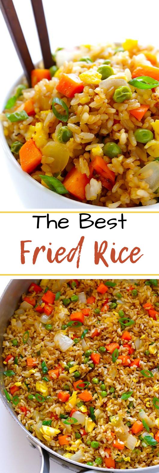 The BEST Fried Rice #dinner #easyrecipe