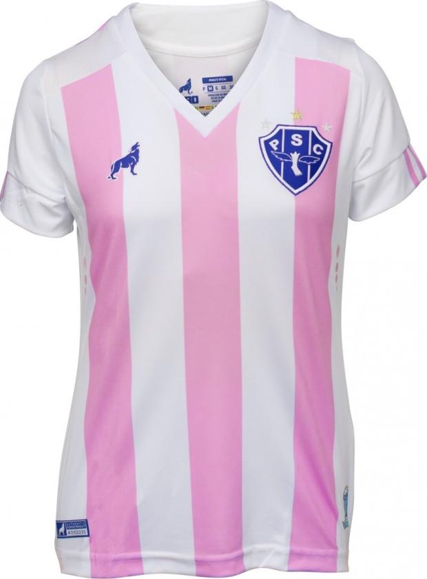 1f92227db1 Paysandu adere a campanha do Outubro Rosa - Show de Camisas