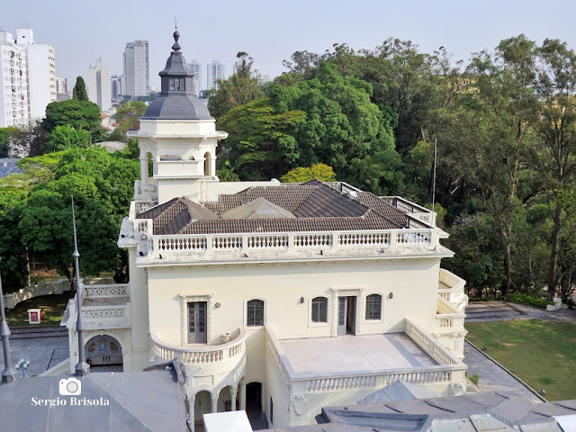 Palacete Violeta (Palacete Basílio Jafet visto do Mirante)