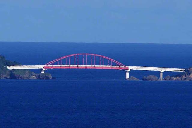 bridge, Miyagi Island, Ikei Island, Okinawa, ocean,sky