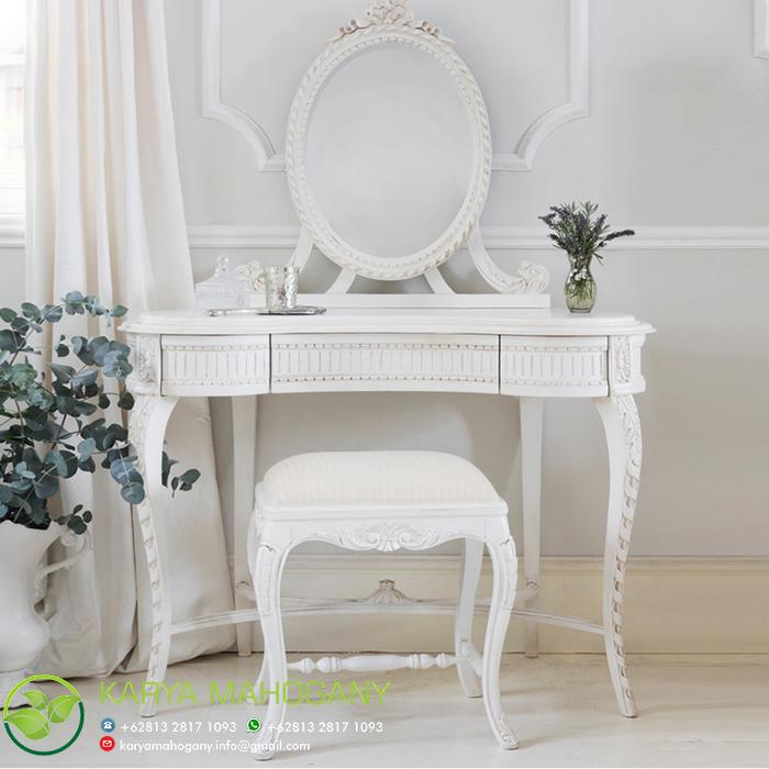 Meja Rias Putih Eropa | Model Meja Rias Klasik Eropa