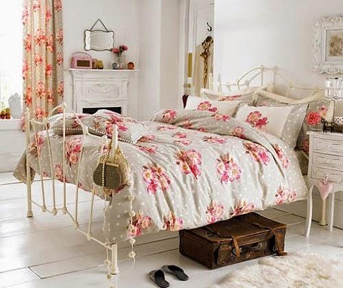 Dormitorios para chicas estilo vintage dormitorios for Cuartos de nina vintage