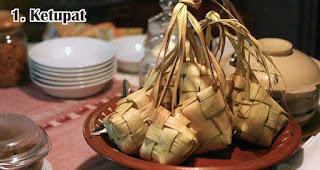 Ketupat merupakan salah satu makanan khas lebaran di Indonesia yang selalu ditunggu-tunggu