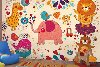 Kids Room Wallpaper For Walls