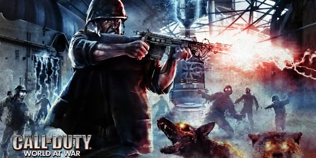 Call of Duty: World at War (2008) best zombie games, best zombie survival games, the best zombie game,zombie games and best zombie games ever.
