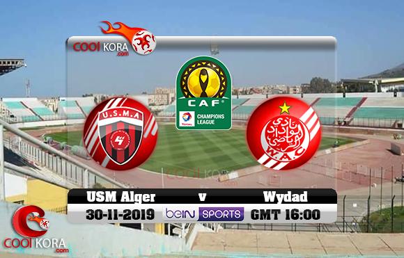 مشاهدة مباراة إتحاد الجزائر والوداد اليوم 30-11-2019 دوري أبطال أفريقيا