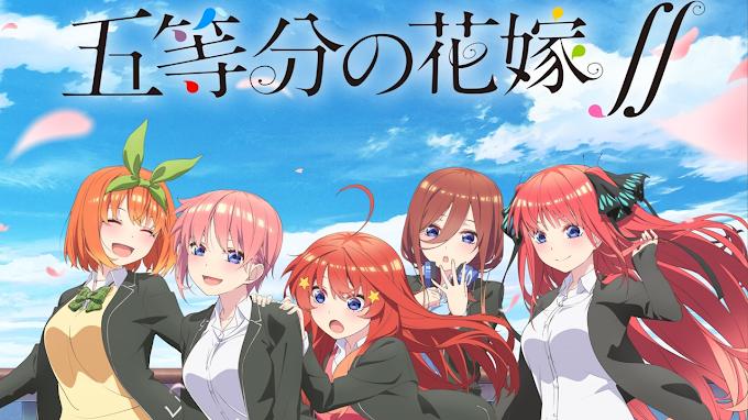 Descargar Gotoubun no Hanayome Temporada 2 [08/12] [Sub Español] [HD] [Mega] [Mediafire]