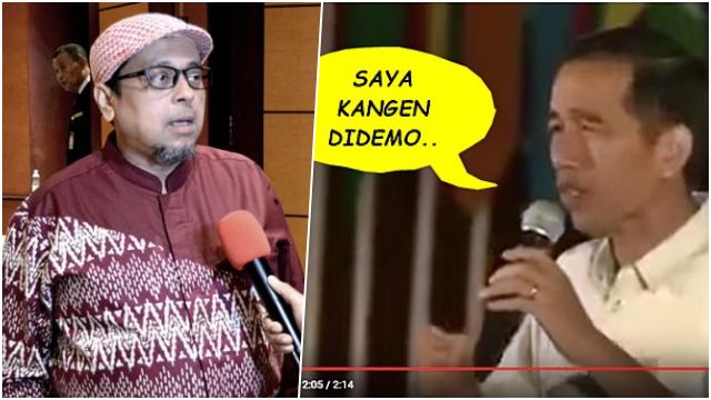 Jokowi Minta Dikritik, Haikal Hassan Teringat Soal Rindu Didemo