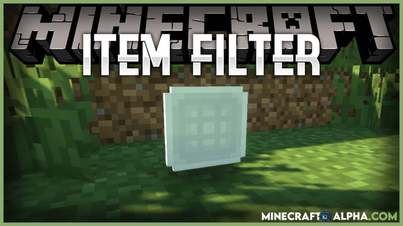 Minecraft Item Filter Mod 1.16.5 (Advanced Filtering Items)