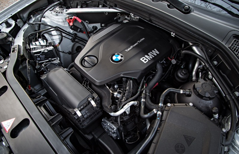 Дизельный мотор BMW