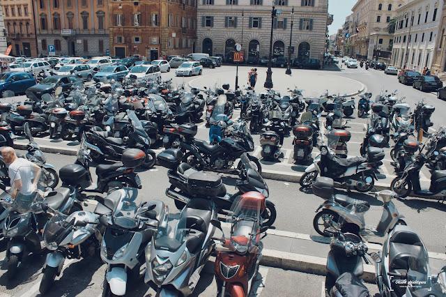 Mandaty za parkowanie we Włoszech