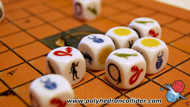 Ominoes egyptian dice game review