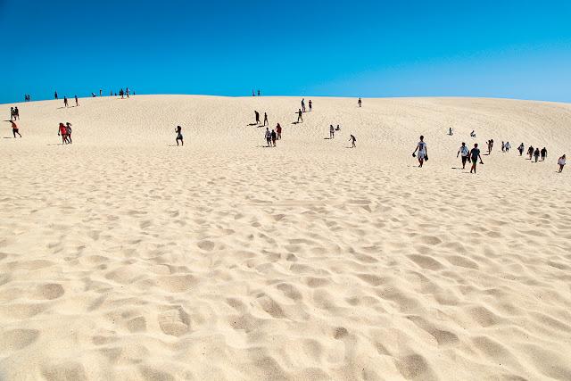 Plaża Sotavento. Corralejo. Fuerteventura