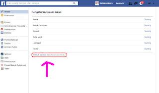 cara mengembalikan poto di facebook