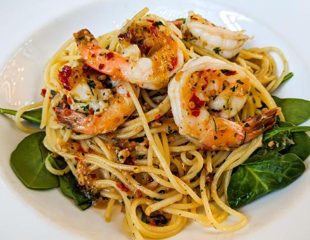 Resep Spaghetti Aglio Olio Udang