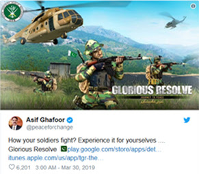 The-Glorious-Resolve-Game-Launched-by-Pakistan-ISPR