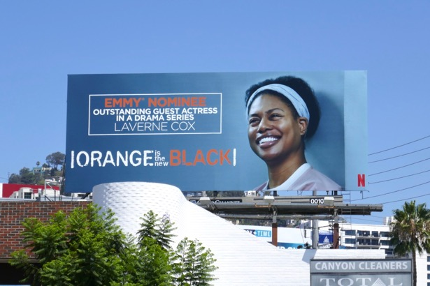 Laverne Cox Orange New Black season 6 Emmy nominee billboard