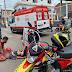 Colisão entre duas motos deixa jovem ferido em Ipu