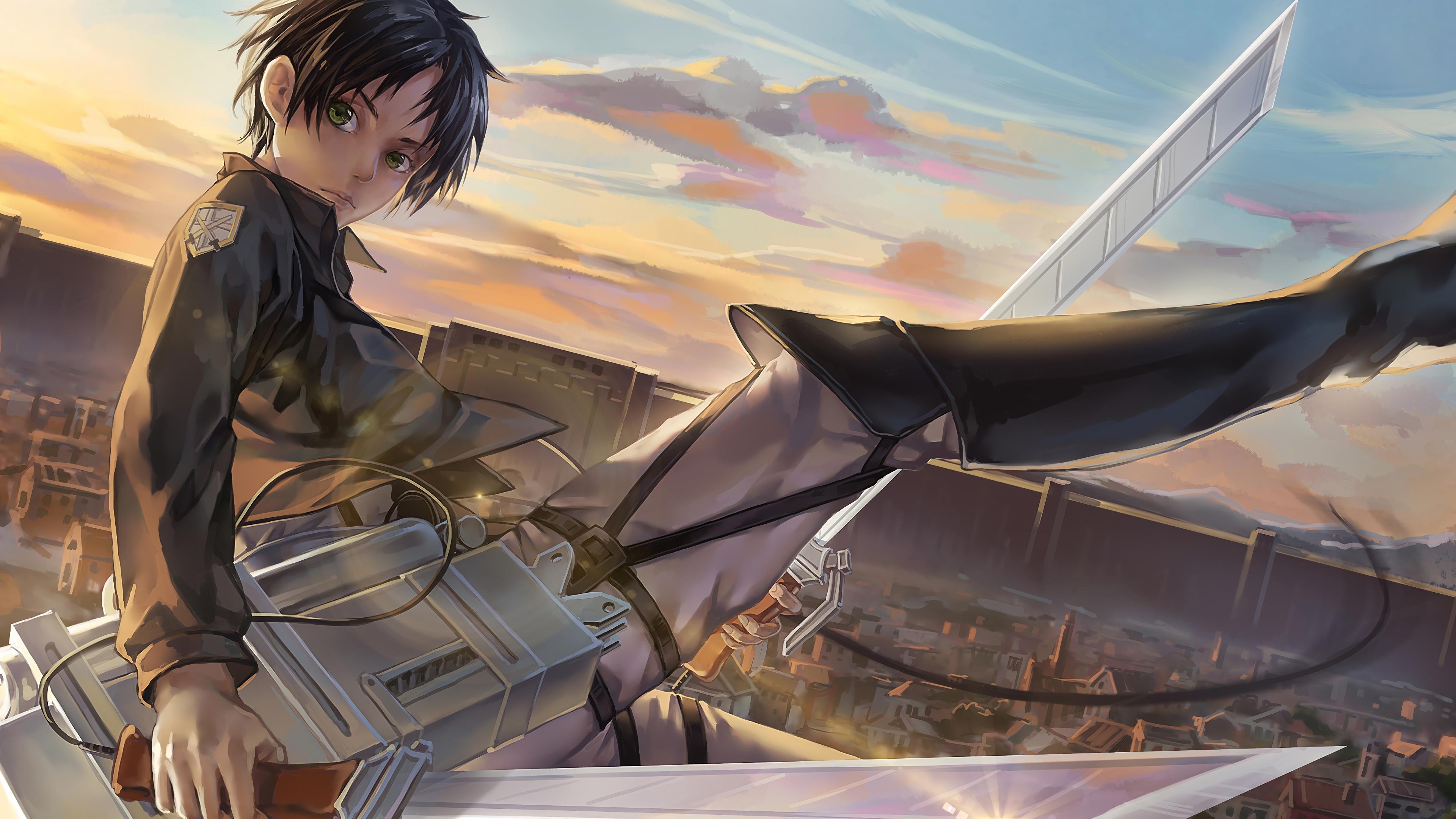 Eren, Attack on Titan, 4K, #117 Wallpaper