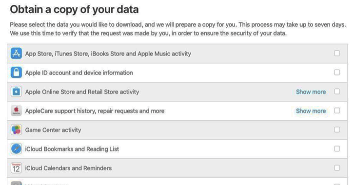 Download-apple-account-data