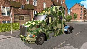 Peterbilt 387 Green Camo skin
