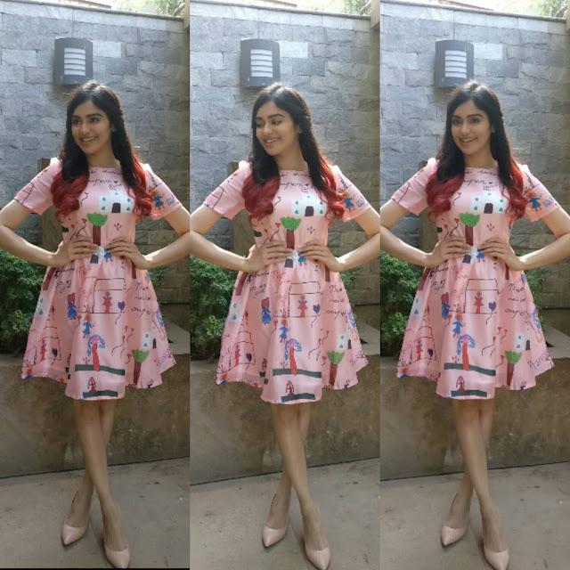 Adah Sharma in two looks- Sesame dress