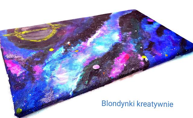 Kosmiczne malowanie - Galaxy Painting