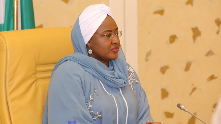 Gunshots rock Presidential Villa as Aisha, Buhari's aide clash