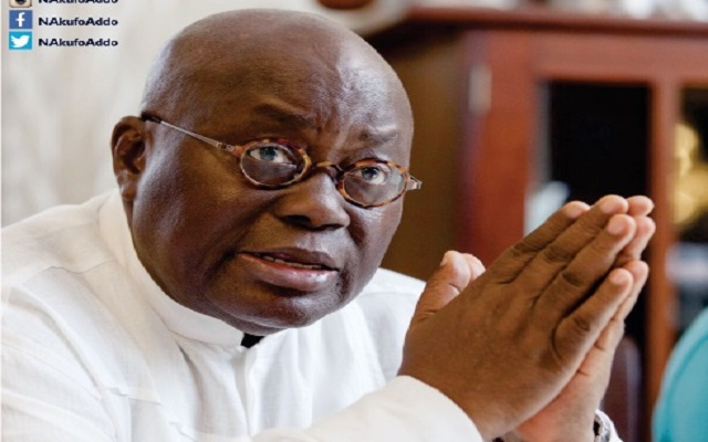 Pray for peace, prosperity - Akufo-Addo to Muslims
