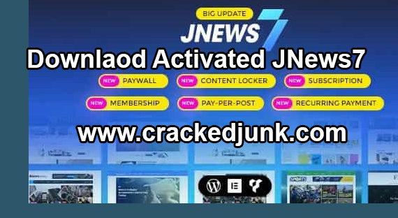 Free Download JNews Theme Latest Latest Version v7.0.9 [Fully Activated]